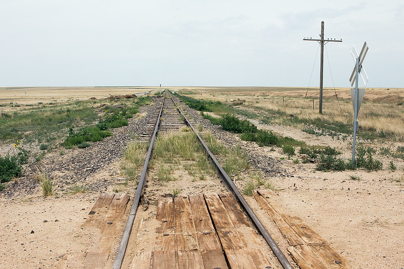 Defunct rail line, Colorado<br /> ©2020 Peter Aldrich