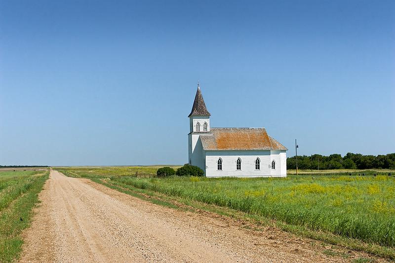 Prairie church, North Dakota<br /> ©2011 Peter Aldrich