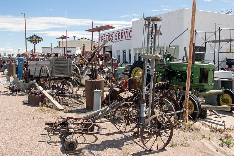 Antique dealer, Wyoming<br /> ©2014 Peter Aldrich