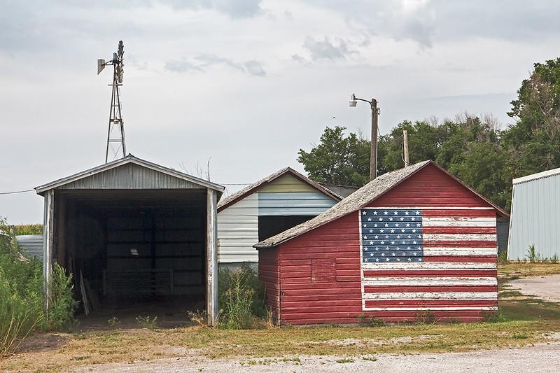Roadside view, Nebraska<br /> ©2014 Peter Aldrich