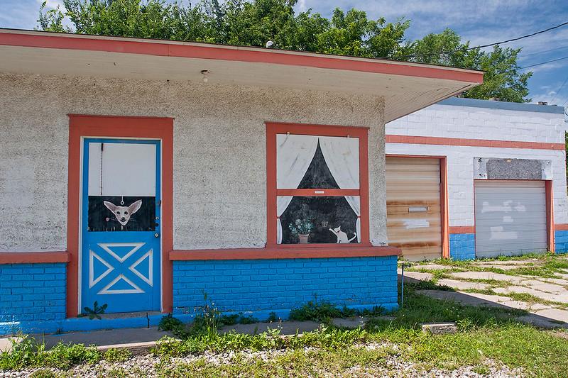 Former gas station, Iowa<br /> ©2009 Peter Aldrich