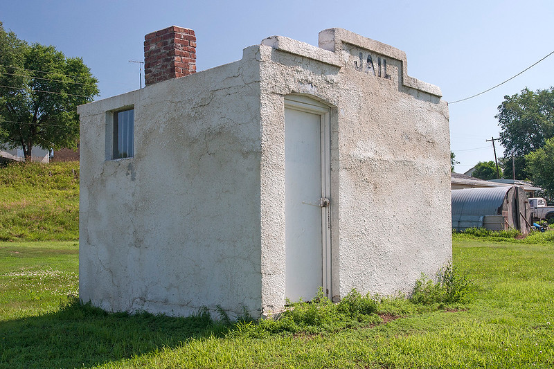 Old jail, Nebraska<br /> ©2009 Peter Aldrich