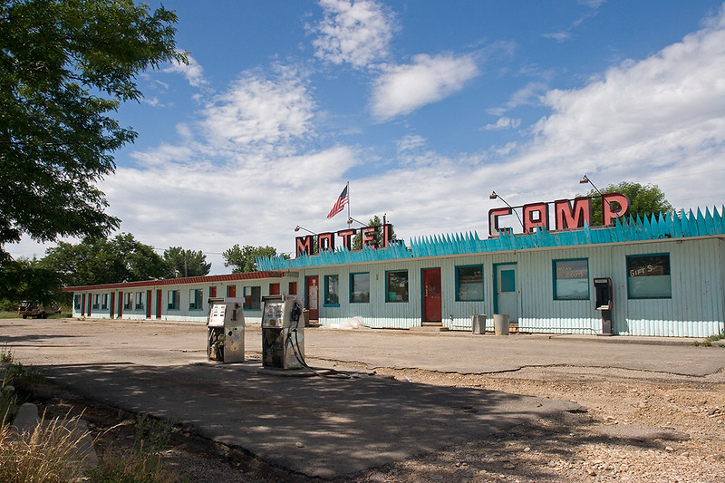 Motel, Crow Agency, Montana<br /> ©2011 Peter Aldrich