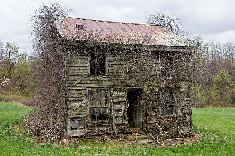 House along Blue Ridge Parkway, Virginia<br /> ©2011 Peter Aldrich