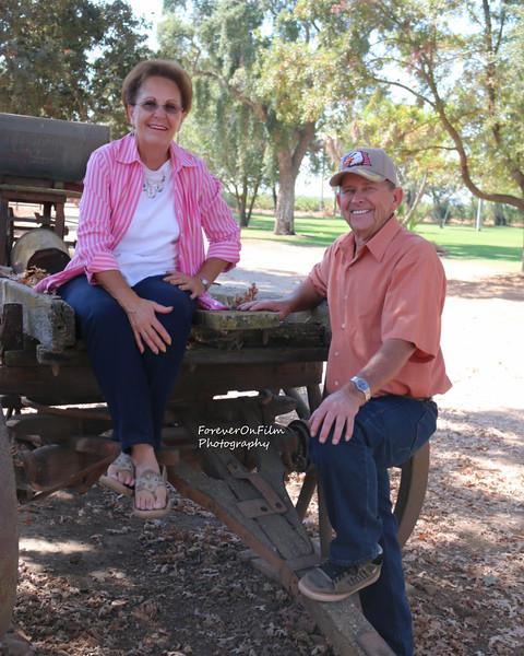 Jim and Carole Snow 2014