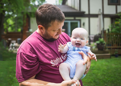 Daddy and Jack-