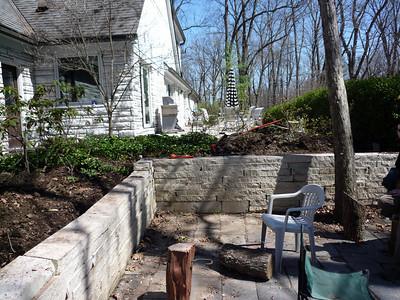 Backyard Retaining Wall Rebuild