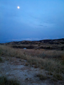 Full moon May 3, 2012 at Bennet Creek campground.