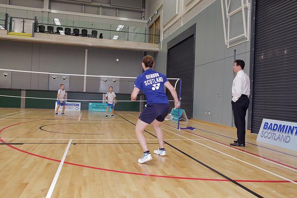 Badminton shoot 17.10.12