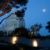 Bahai Moon at dawn