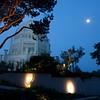 Bahai Moon at dawn
