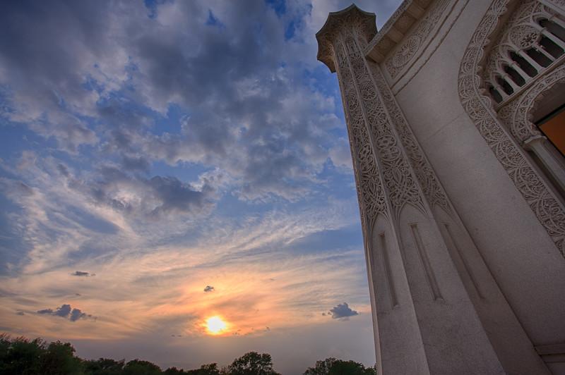 Bahai sunset 2