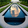 Bahai reflecting pool