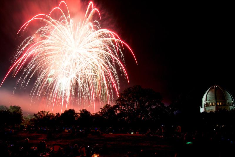 Bahai Fireworks