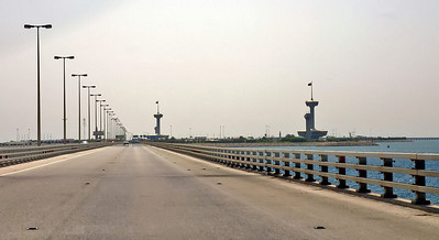 Causeway from Bahrain side SM
