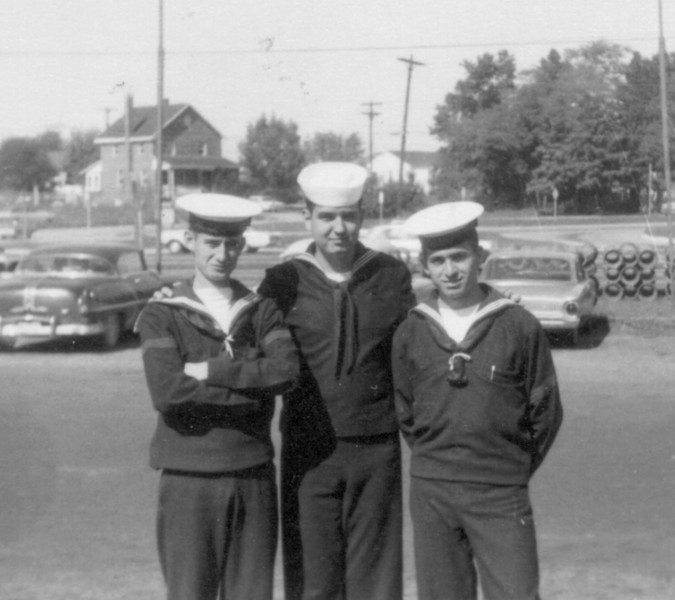 Photos courtesy of Spanish Petty Officer Manuel Borja, who trained at USNTC BAINBRIDGE from 1963 to 1964, attending Fire Control School.<br /> <br /> Spanish and Columbian saliors.
