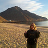 the beach at Kiki's!