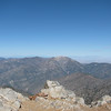 Mt Baden-Powell and the middle range of the San Gabriels.
