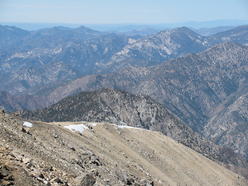 Iron Mountain ( My favourite hike) at 8006 feet in the center of the picture