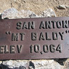 Mount Baldy also known as Mount San Antonio
