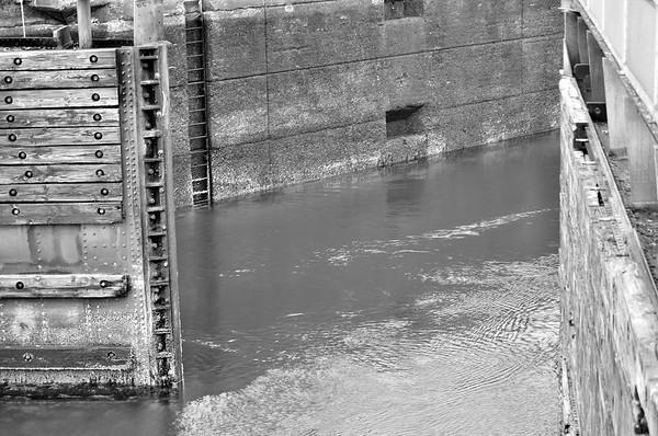 Ballard Locks and Ship yard  Seattle WA