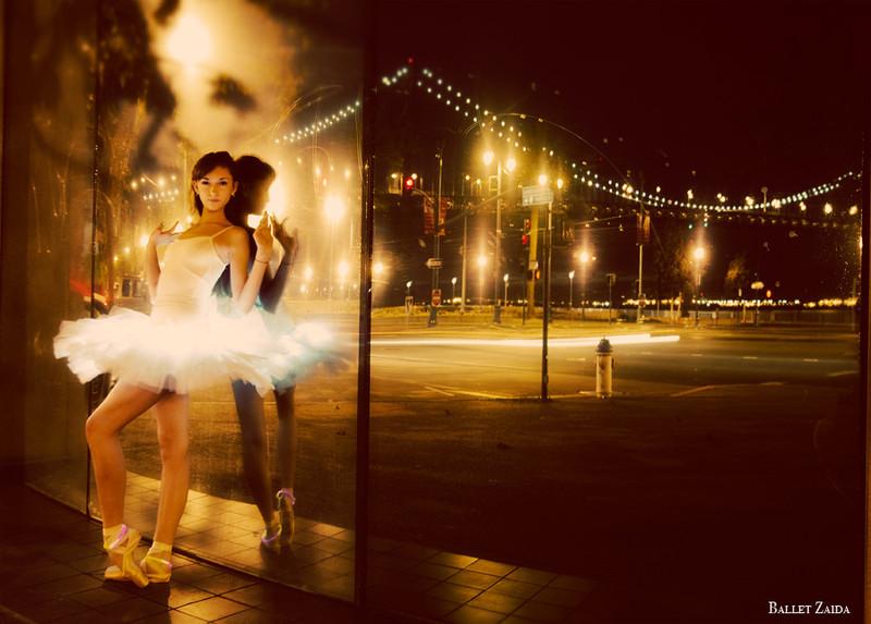 Dancer - Jeanette Kakareka.<br /> <br /> Location - Howard Street. San Francisco, California.<br /> <br /> © 2010 Oliver Endahl