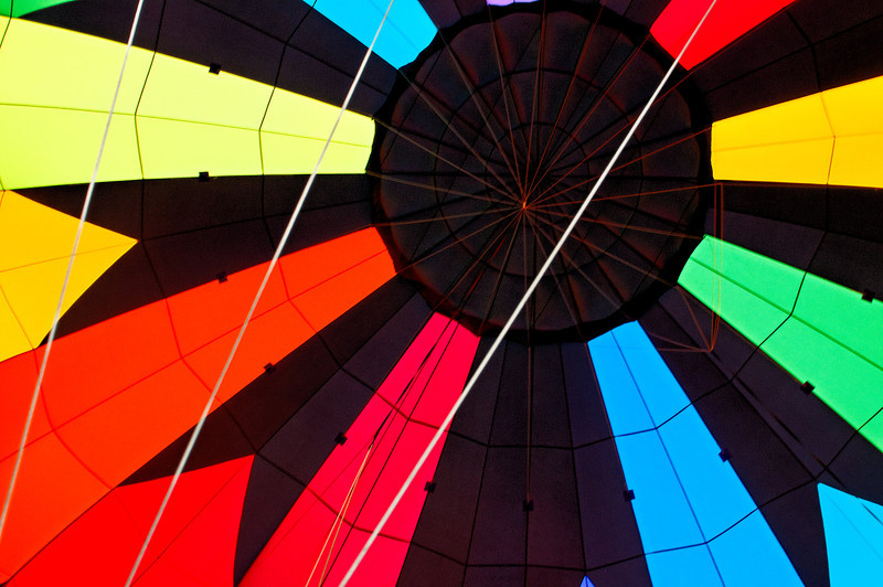 Geometry -- View inside a balloon