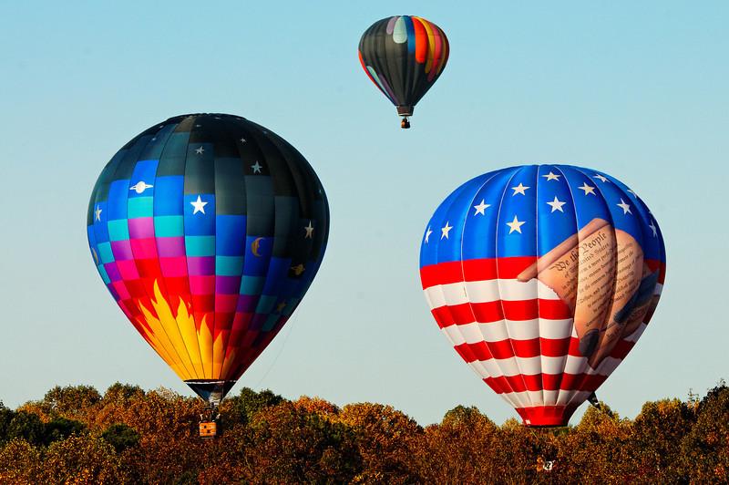 Balloons in Flight II
