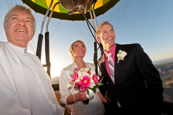 Hot Air Balloon Weddings in Sedona