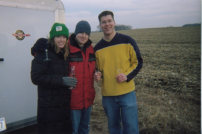Ashley & Evan Ballooning - January 2006