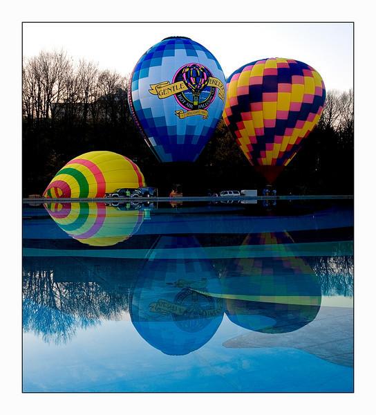 Balluminaria 2009 Eden Park Cincinnati, Ohio