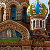 Closeup, Church on the Spilled Blood, Saint Petersburg