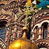 Golden dome, Church on the Spilled Blood, Saint Petersburg
