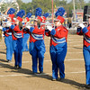 Elwood performs during Indiana State Fair Band Day on Friday.