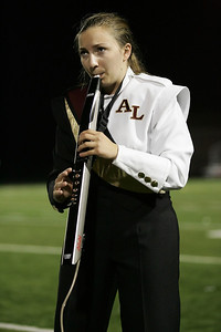 Rachael Van Syoc plays a solo on an electric wind instrument at Band-O-Rama. photo by Ray Riedel