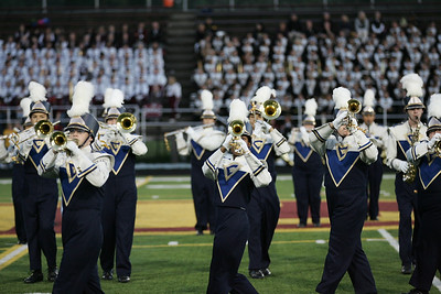 Clearview marching band at Band-O-Rama. photo by Ray Riedel