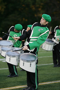 Cole East of the Columbia High School Marching band is rocking the quads at Band-O-Rama. photo by Ray Riedel