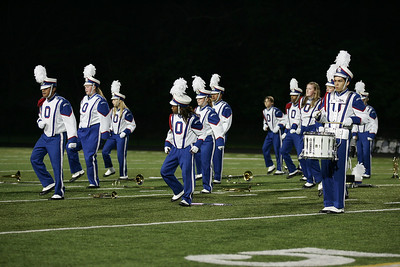 Oberlin High School Marching Band performs at Band-O-Rama. photo by Ray Riedel