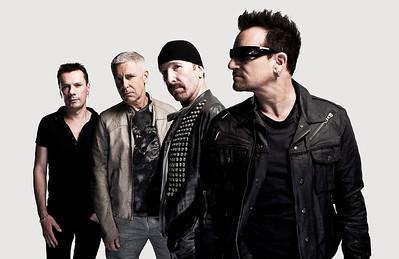 U2 photographed by John Wright