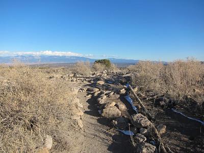 Pueblo ruins.