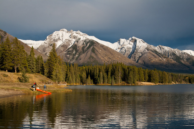Johnson Lake, Banff Alberta