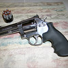 Smith & Wesson 686-6 .357 Magnum, traded away.