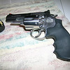 Smith & Wesson 686-6 .357 Magnum. Traded it in for the Kimber due to a growing 1911 addiction.