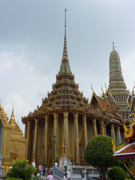 Wat Phra Kaew.  Bangkok.  One of the most sacred places in Thailand, where the Emerald Buddha lives.