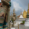 Guards at Wat Phra Kaew
