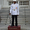 Aaawwwww, cute little guard at the Royal Palace.  He's so tiny, they gave him a box to stand on....