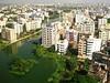 view of dhaka from BRAC centre.  dhaka