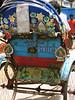 rikshaw art.  dhaka