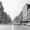 Main Street, Bangor, looking south in September 1968.  BANGOR DAILY NEWS PHOTO BY SPIKE WEBB