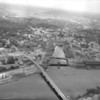 Aerial view of downtown Bangor with waterfront in foreground. Photograph was taken in June 1960. BANGOR DAIILY NEWS FILE PHOTO BY SPIKE WEBB